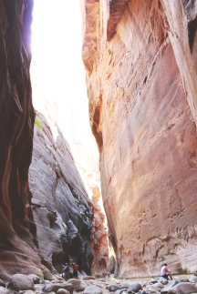 Riah's view of the Narrows