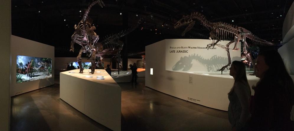 entering the Jurassic era