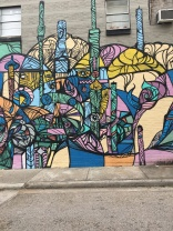 mixed wall in museum district