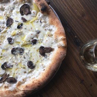 Pizaro's Patata e Funghi Pizza