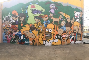 90's throwback wall