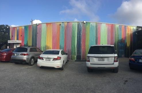 paint drip wall near westheimer