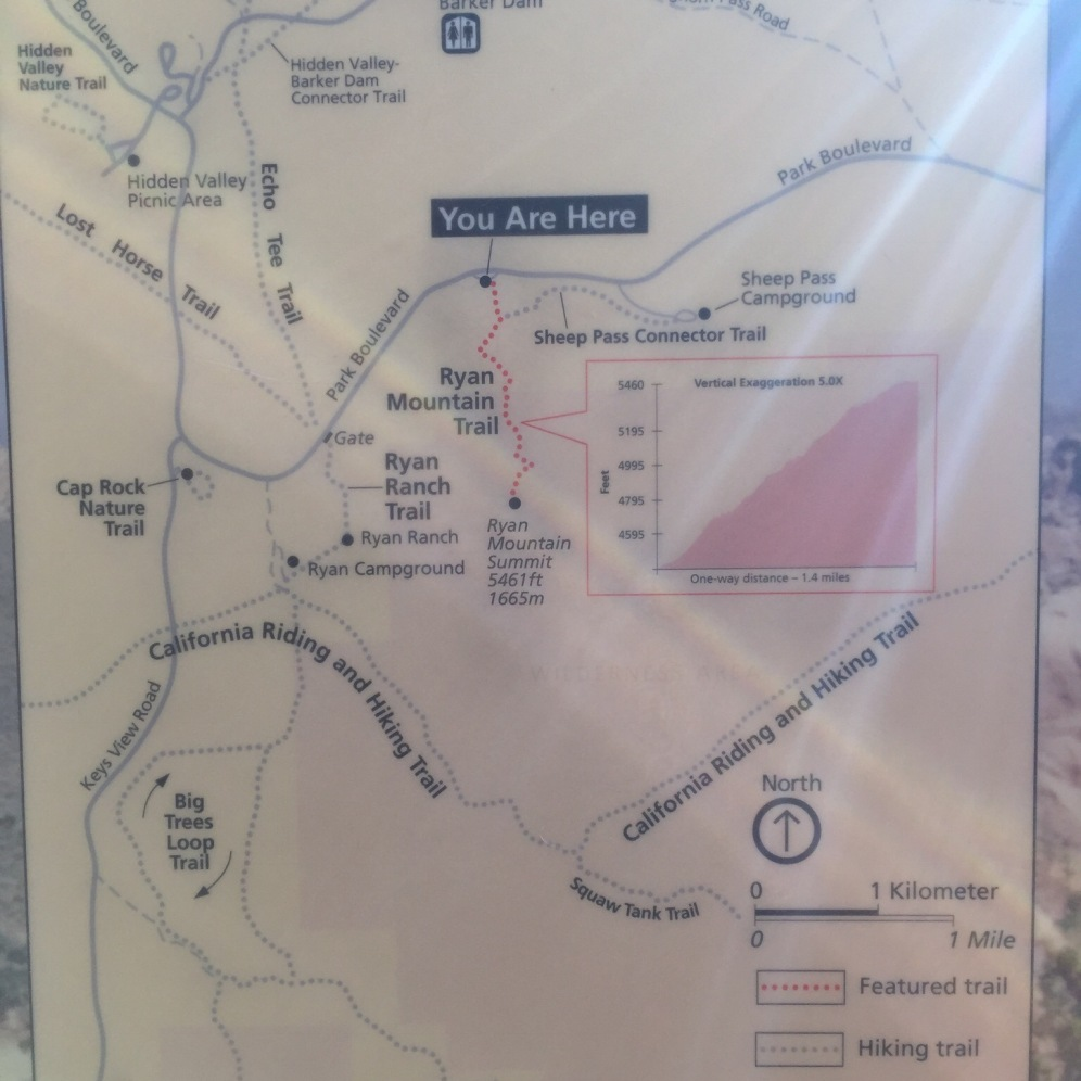 Trail information map