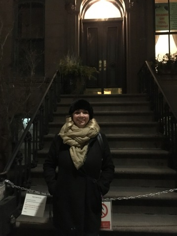 Carrie Bradshaw's staircase