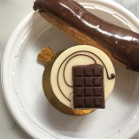 eclair & chocolate mousse