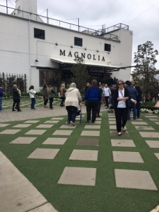 Magnolia Market Grand Entrance