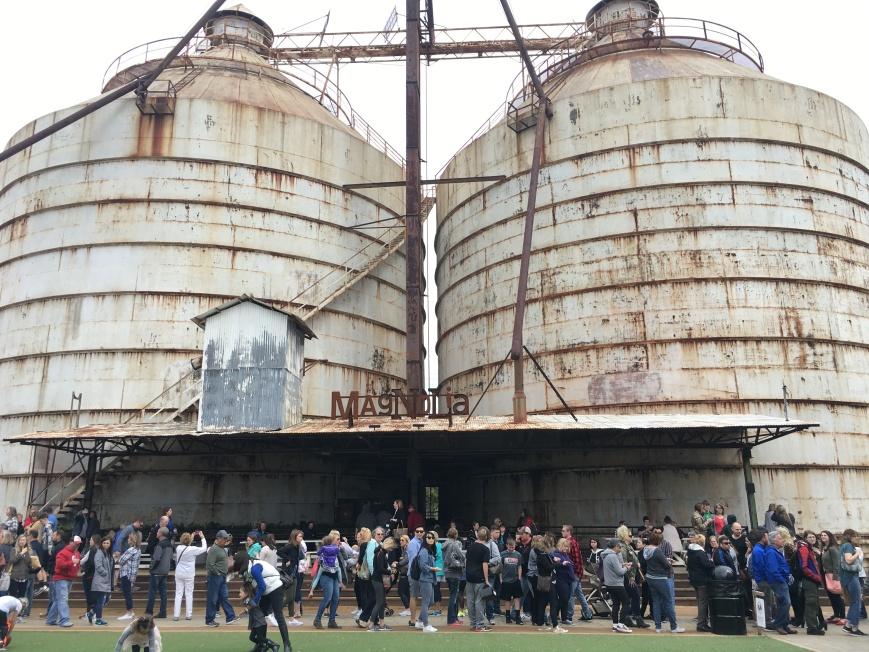 Silos at Magnolia Market-Waco, TX