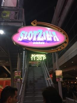 Slotzilla entrance
