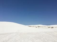 Landscape at White Sands