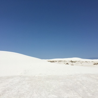 Landscape at White Sands