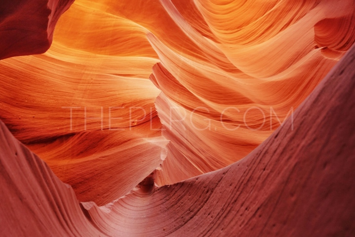 antelope canyon_slope view