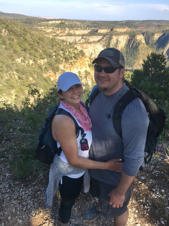 Brad.Nicole hike