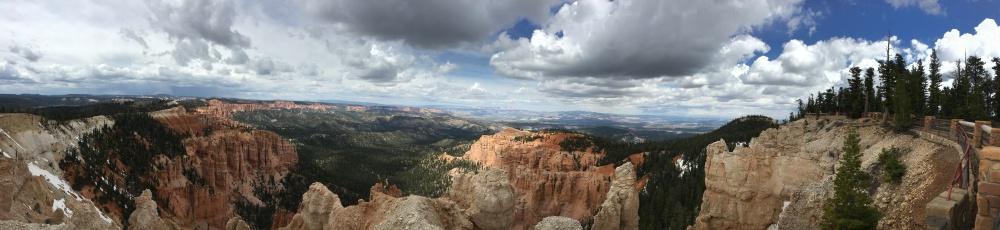 Rainbow Point panorama