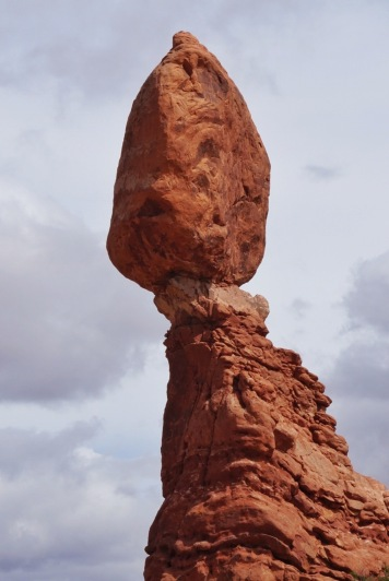Balanced Rock Close Up
