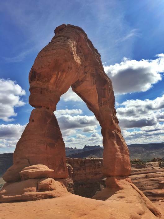 Delicate Arch side view