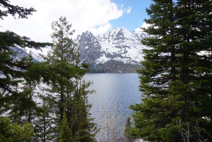 Tetons at Jenny Lake