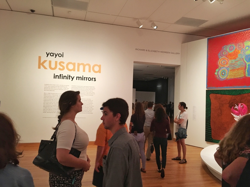 Kusama entrance