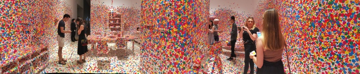 Obliteration Room panorama 1