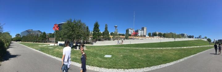 sculture garden panorama
