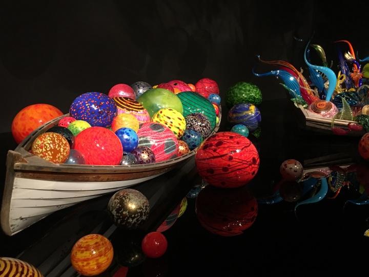 float boat glass balls