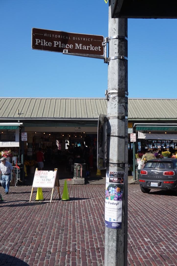 Pike Place Market street