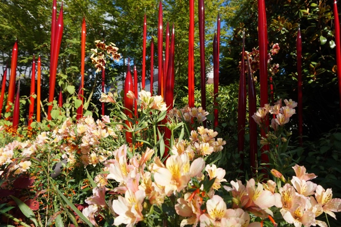 red spires