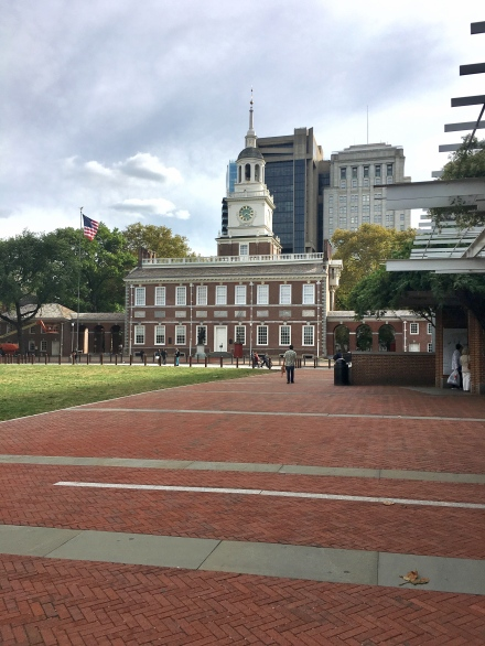 Independence Hall frontal view