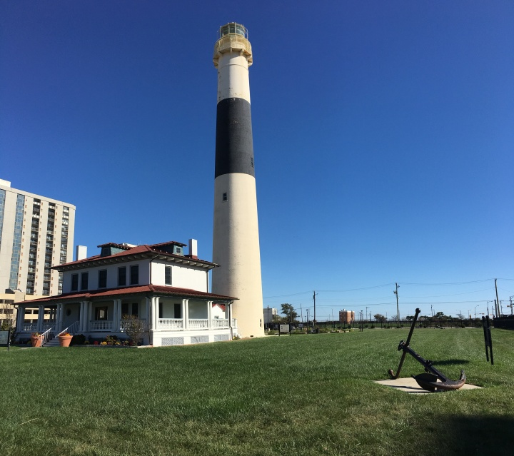 Absecon Lighthouse corner view