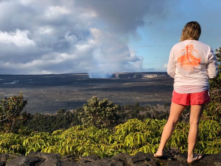 Volcanoes NP tee