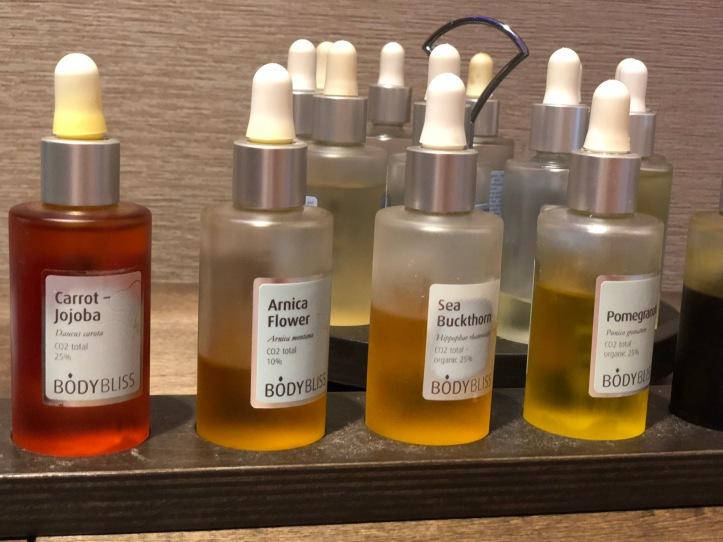 Spa oils