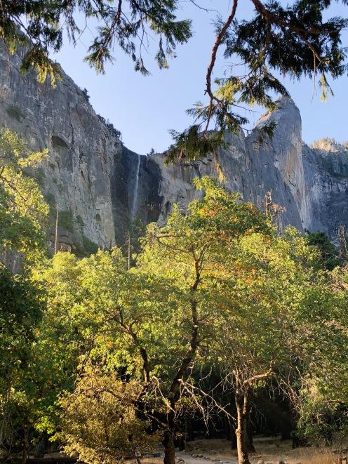 Sunrise_Bridalveil Falls