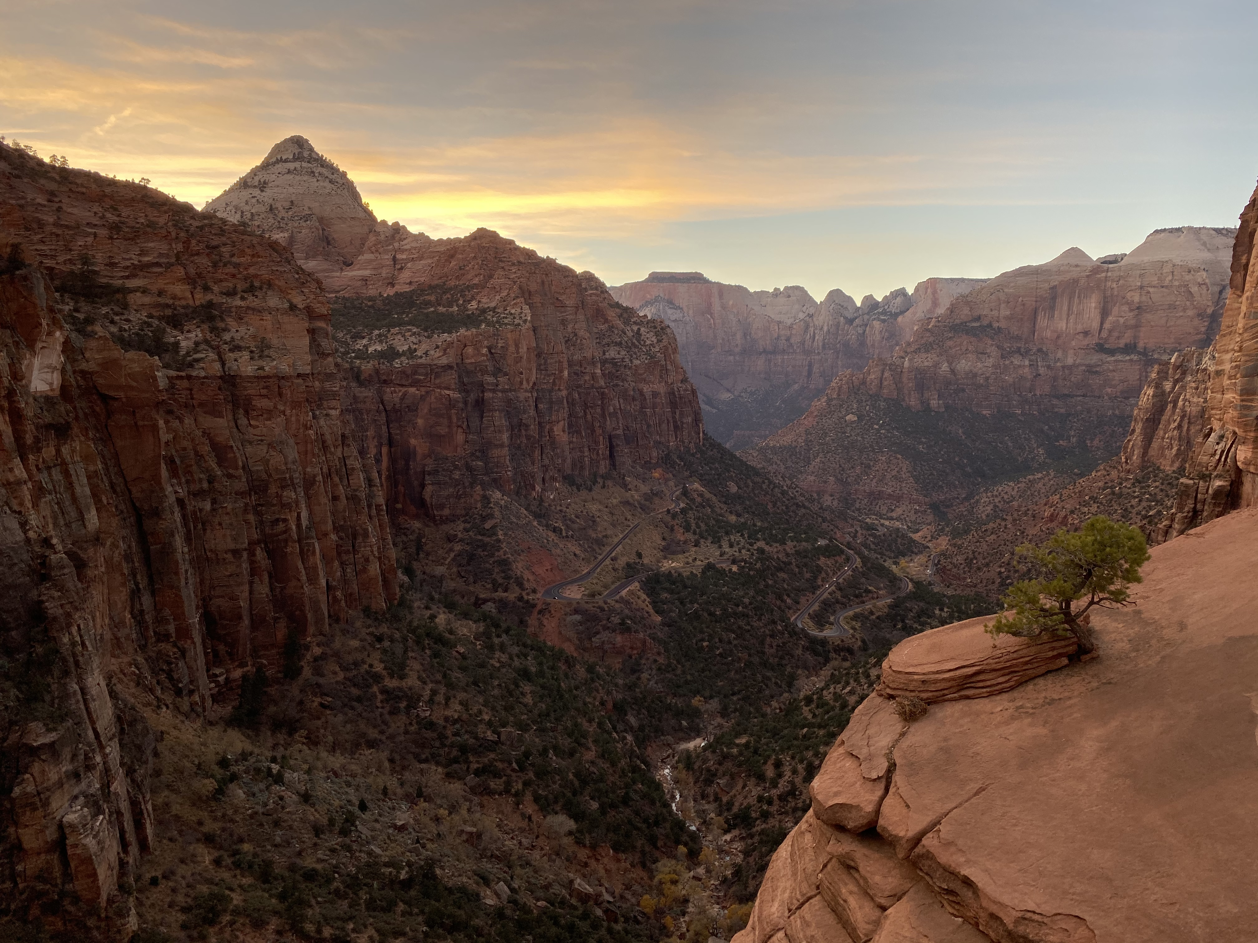 Canyon Overlook, Zion