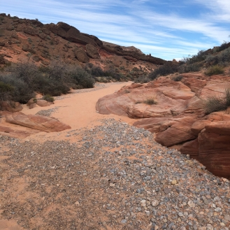 sand river bed