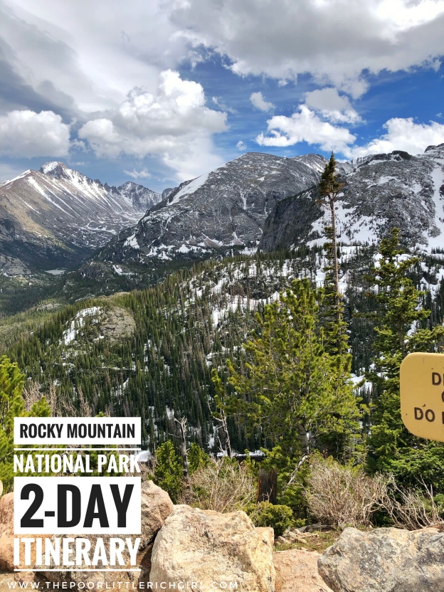2 Day Itinerary-Rocky Mountain National Park